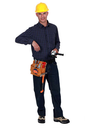 assured: Self-assured builder Stock Photo