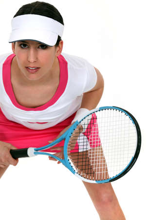 Female tennis player photo