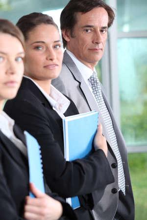 45 50 years: Three professionals Stock Photo