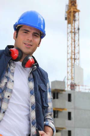 defenders: Construction worker on site