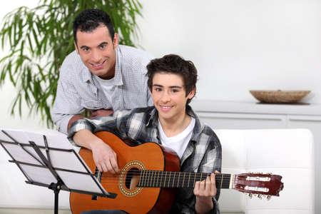 Guitar lesson photo