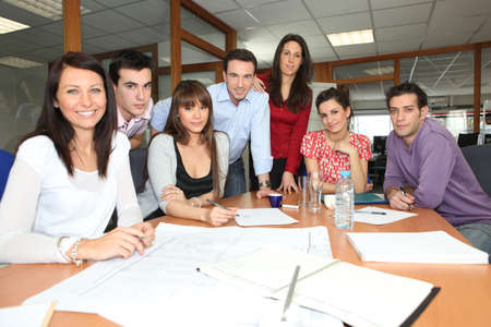 Business team meeting Stock Photo - 11135786