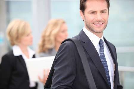 35 40 years: Businessman Stock Photo