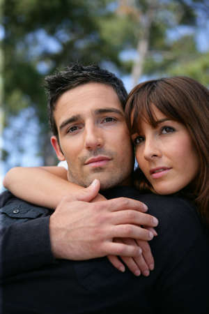 Portrait of a devoted couple Stock Photo - 11135512