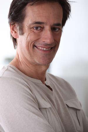 Man smiling. Stock Photo - 11135296