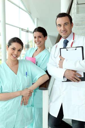 A team of medical professionals photo