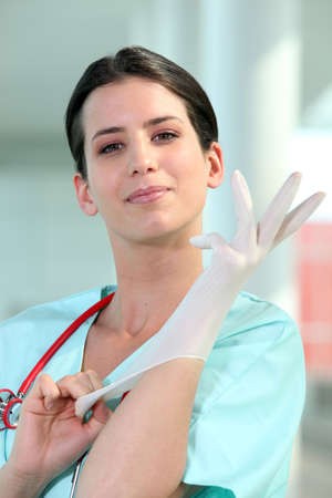 Female surgeon Stock Photo - 11135109