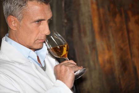 50 55 years: Wine tasting