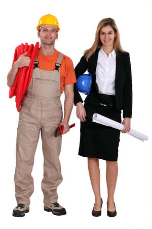 Plumber and contractor photo