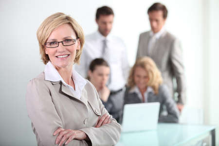collaborators: portrait of a businesswoman