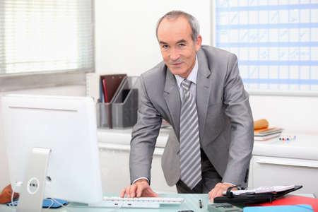 portrait of a senior businessman Stock Photo - 11338863