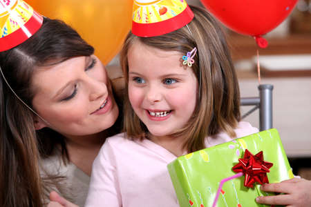 A woman celebrating her daughter Stock Photo - 11306558