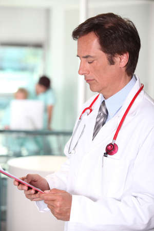 portrait of a doctor Stock Photo - 11294331
