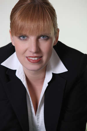 Portrait of a businesswoman Stock Photo - 11382927