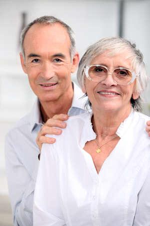 salt pepper: portrait of an older couple