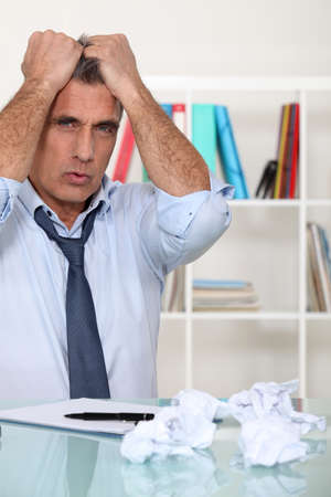 angry businessman Stock Photo - 11389283
