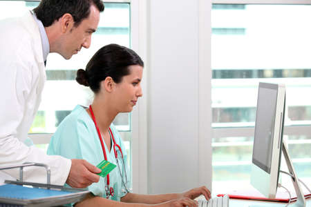 carte: Medical secretary and general practitioner