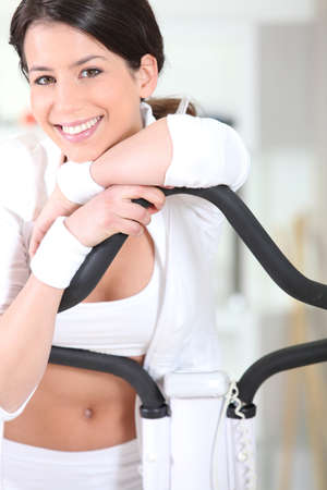 Woman at the gym Stock Photo - 11389071