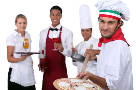 competent: waiters and cooks