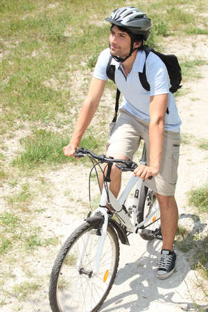 Mountain biking Stock Photo - 11403981