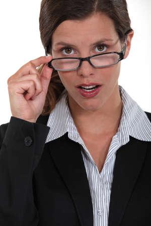 A portrait of a businesswoman. photo