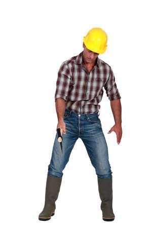 A lumberjack. photo