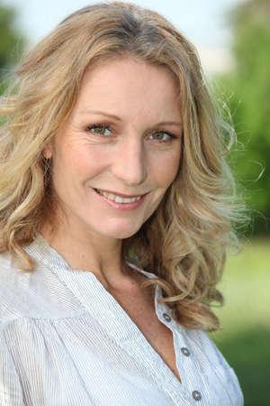 Woman smiling Stock Photo - 11399105