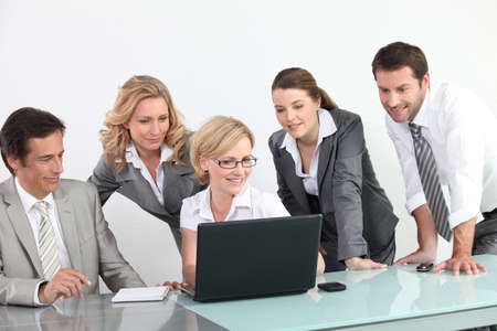 collaborators: business meeting