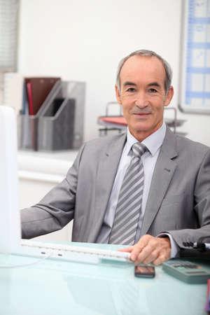insurer: Portrait of a bank director