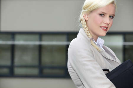 Young businesswoman going to work Stock Photo - 11457013