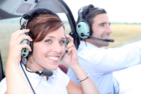 Flying lesson Stock Photo - 11456955