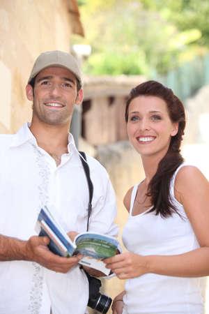 couple on vacation photo
