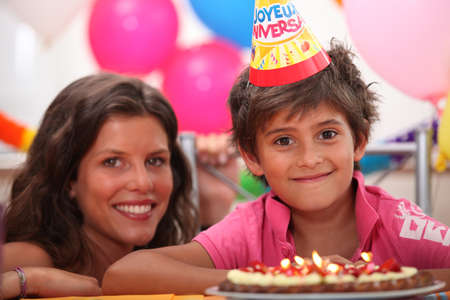 little boy birthday party Stock Photo - 11457012