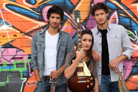 musical trio photo