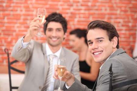 Cheers and congratulation photo