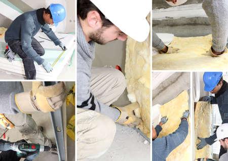 attic: Insulating mosaic