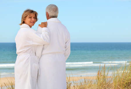 Couple by the sea Stock Photo - 11604175