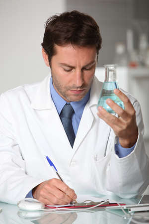 examiner: Scientist Stock Photo