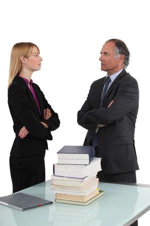A disagreement photo