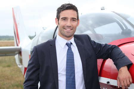 strip shirt: Pilot