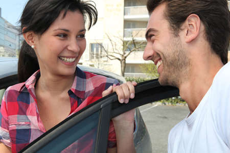 man and woman all smiles Stock Photo - 11612025