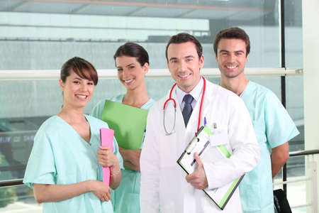 A team of medical professionals photo