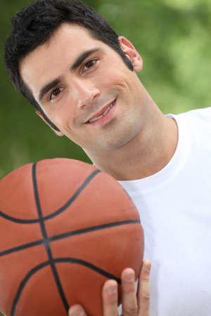 25 to 30: Basketball player Stock Photo
