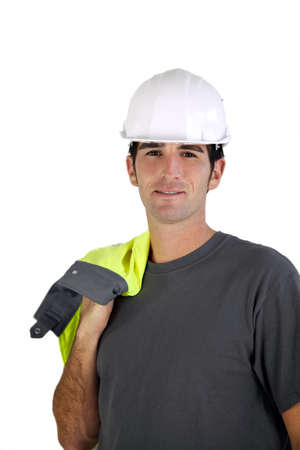 overseer: Male construction worker