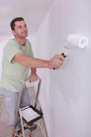 man painting: Painter