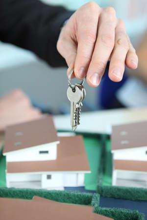 Keys handover photo