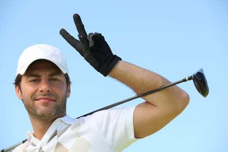 presumptuous: Man playing golf