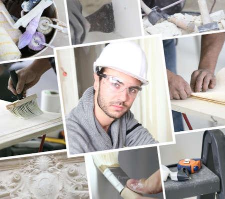 dilute: Construction painter
