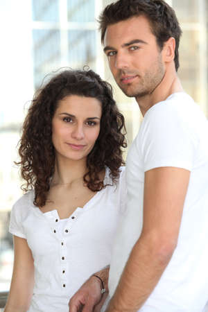 Natural looking couple Stock Photo - 11756208