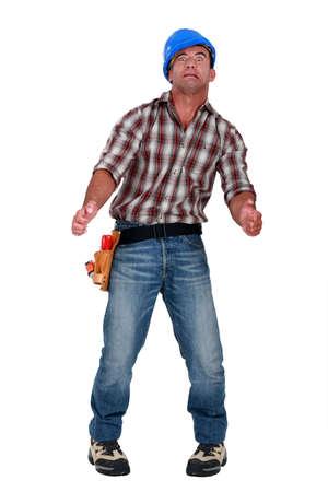 quivering: Hallucinating tradesman